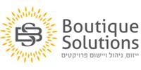 הקמת אתר, קידום אתר וניהול תוכן עבור חברת פתרונות בוטיק